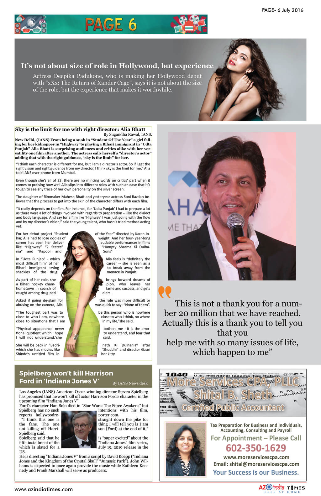 AZ INDIA NEWS PAGE-6