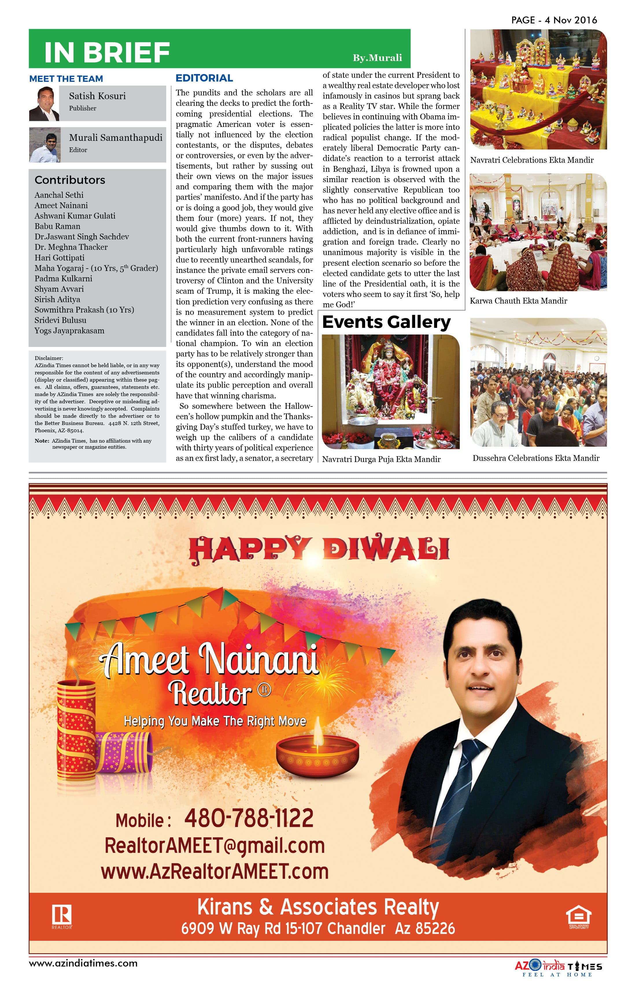 AZIndia November Edition4