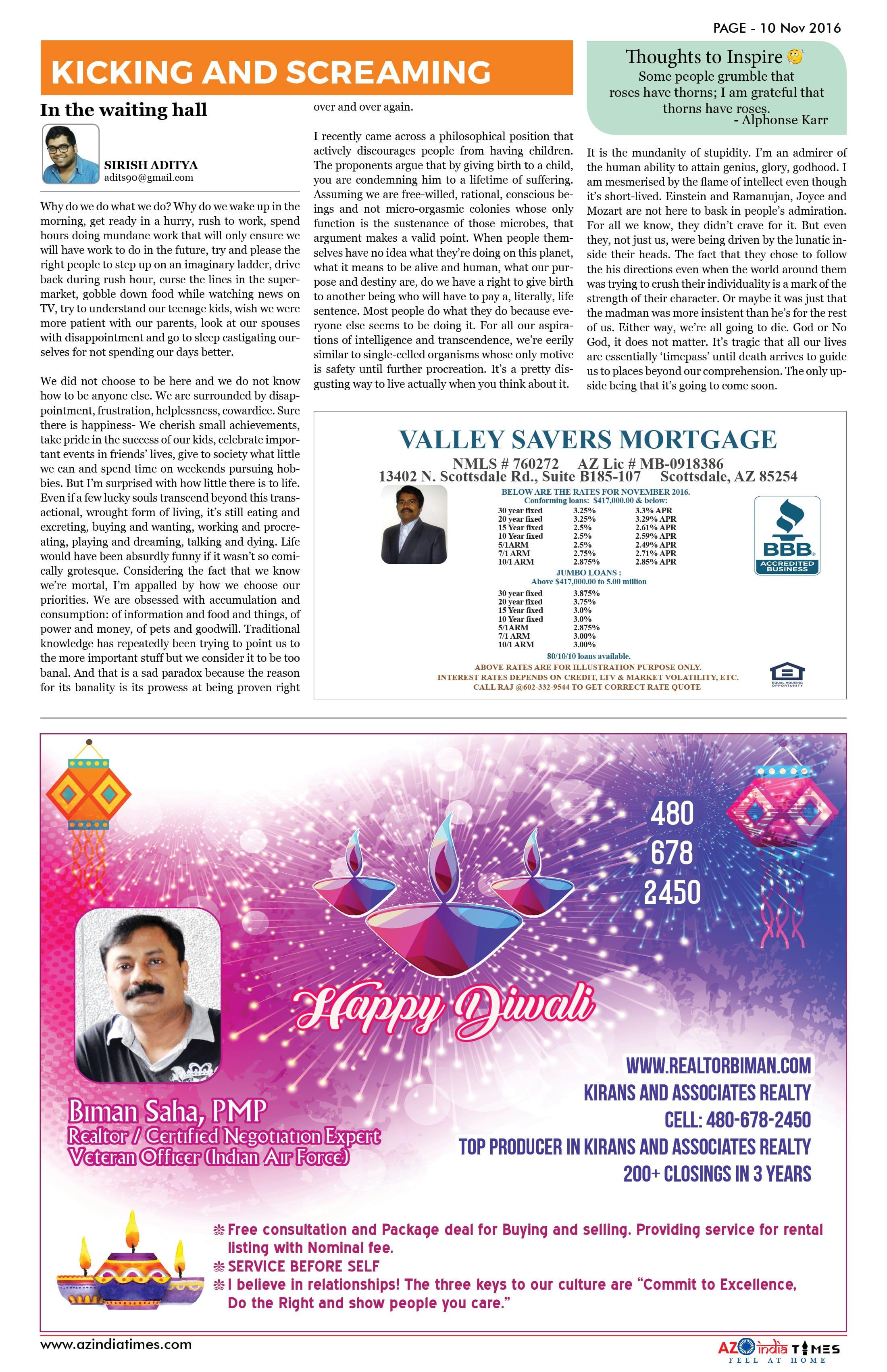 AZIndia November Edition10
