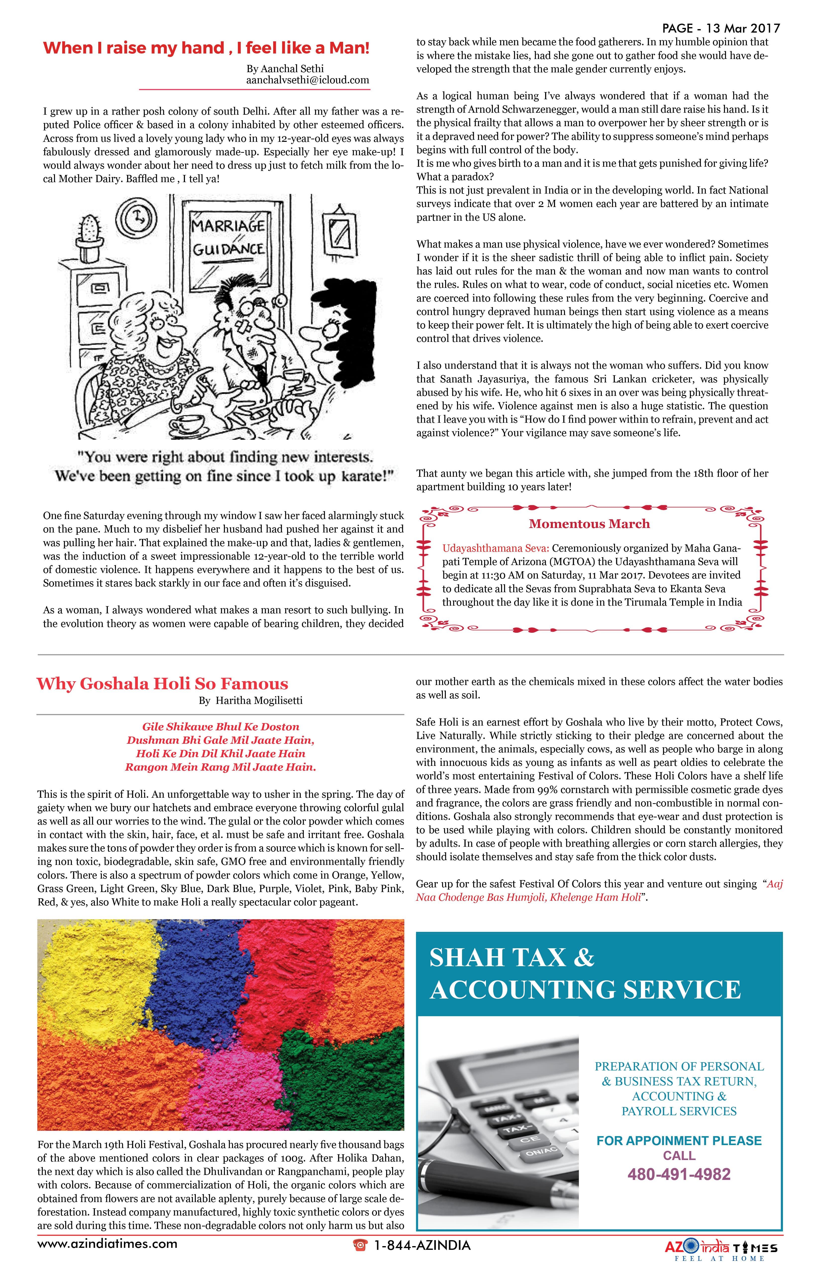 AZ INDIA MARCH EDITION  13
