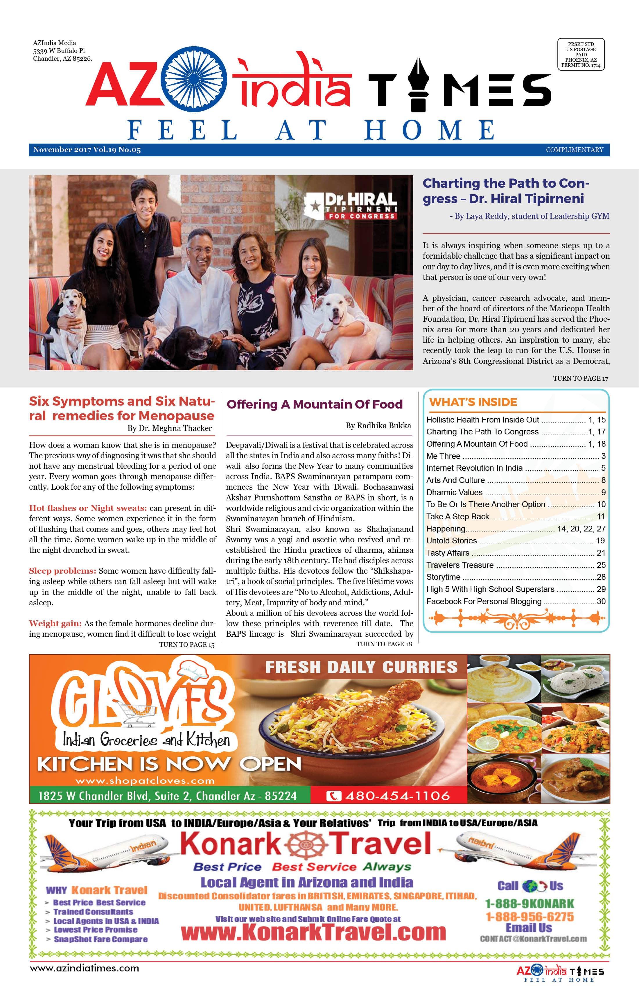 AZ INDIA TIMES NOVEMBER EDITION1