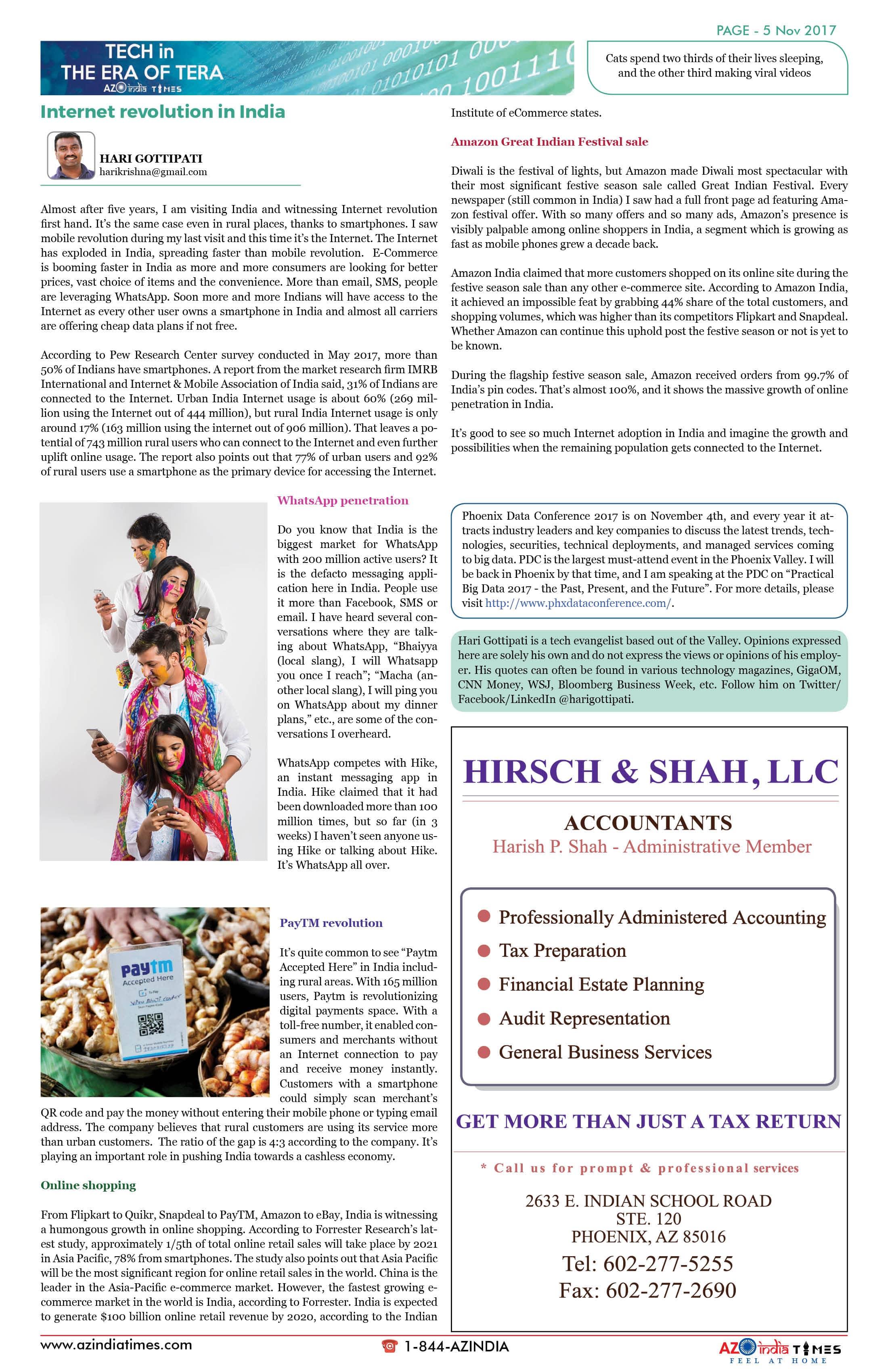 AZ INDIA TIMES NOVEMBER EDITION5