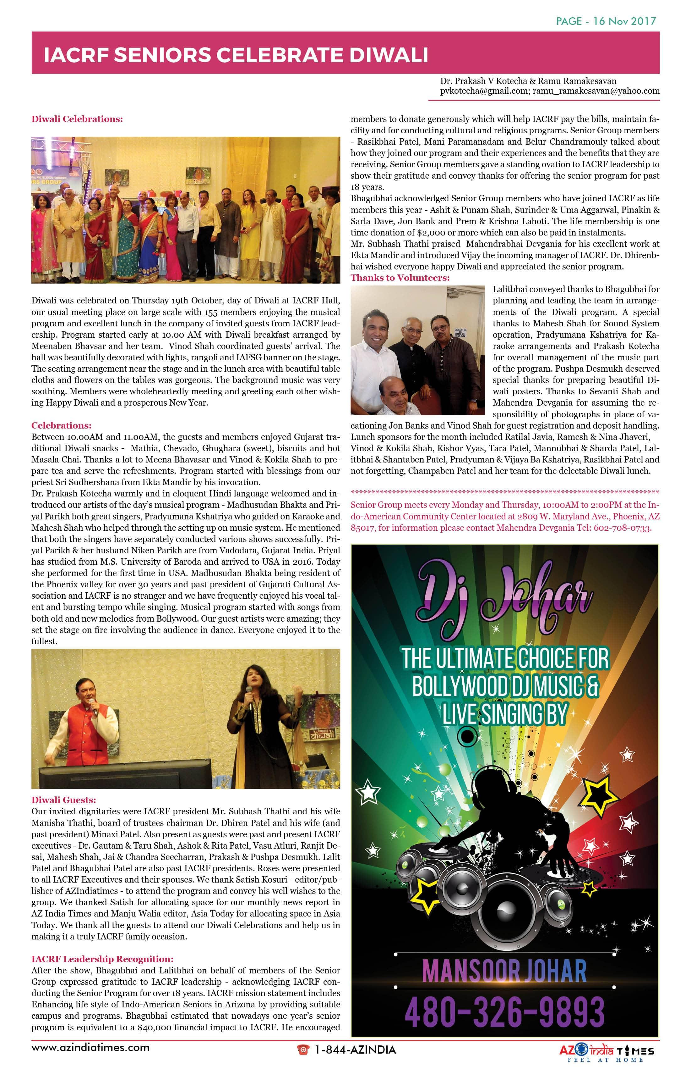 AZ INDIA TIMES NOVEMBER EDITION16
