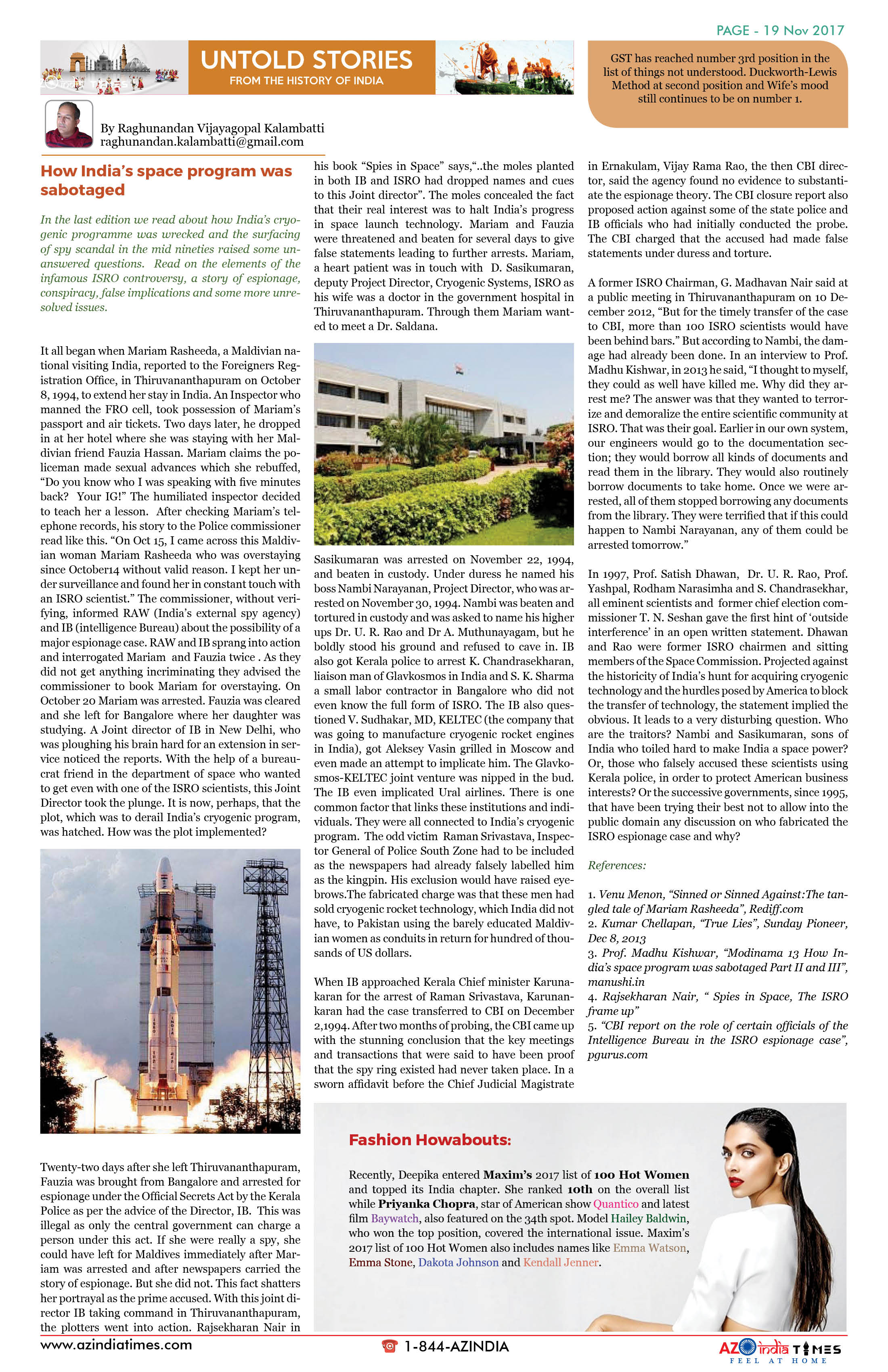 AZ INDIA TIMES NOVEMBER EDITION19
