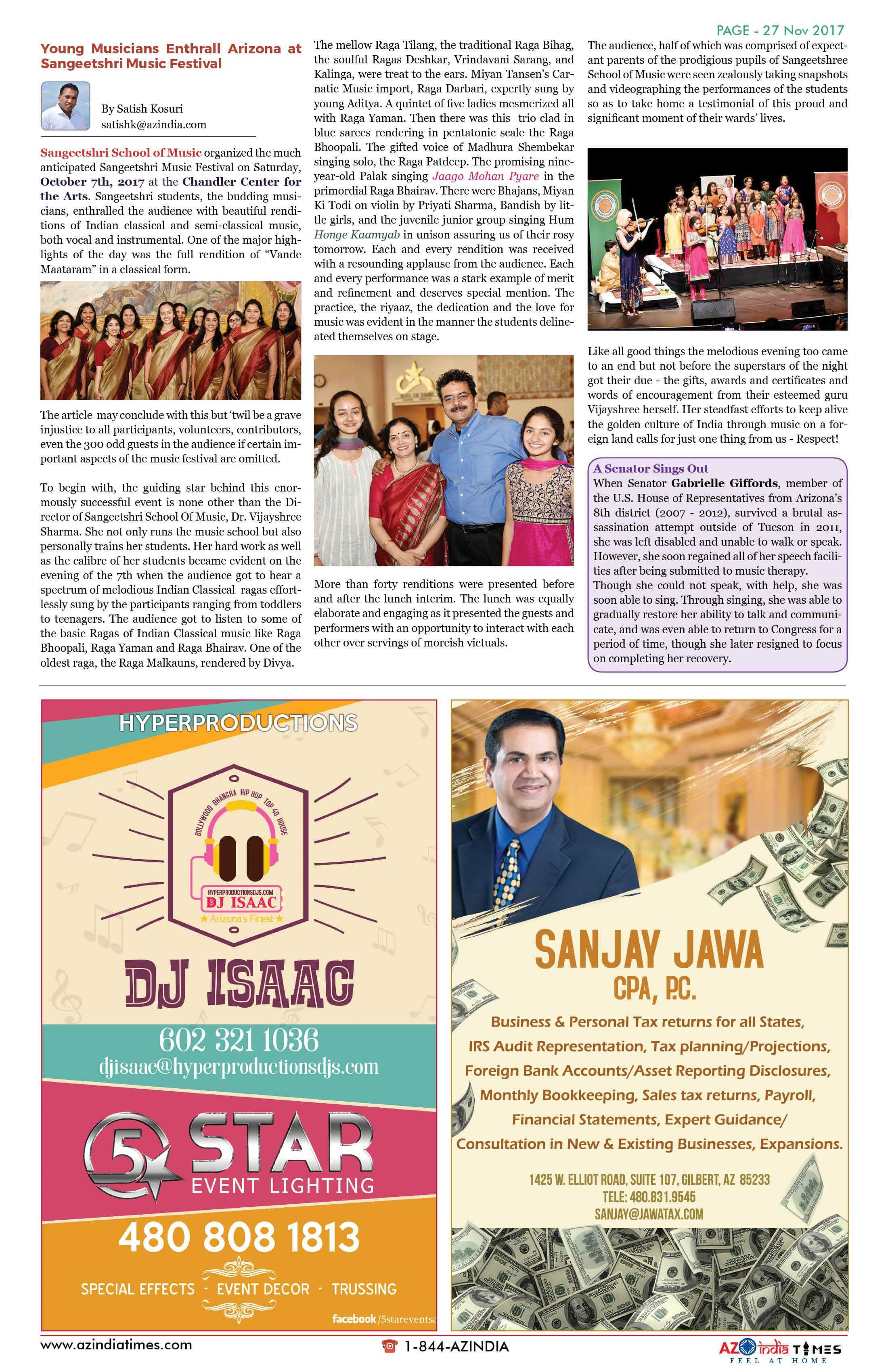 AZ INDIA TIMES NOVEMBER EDITION27