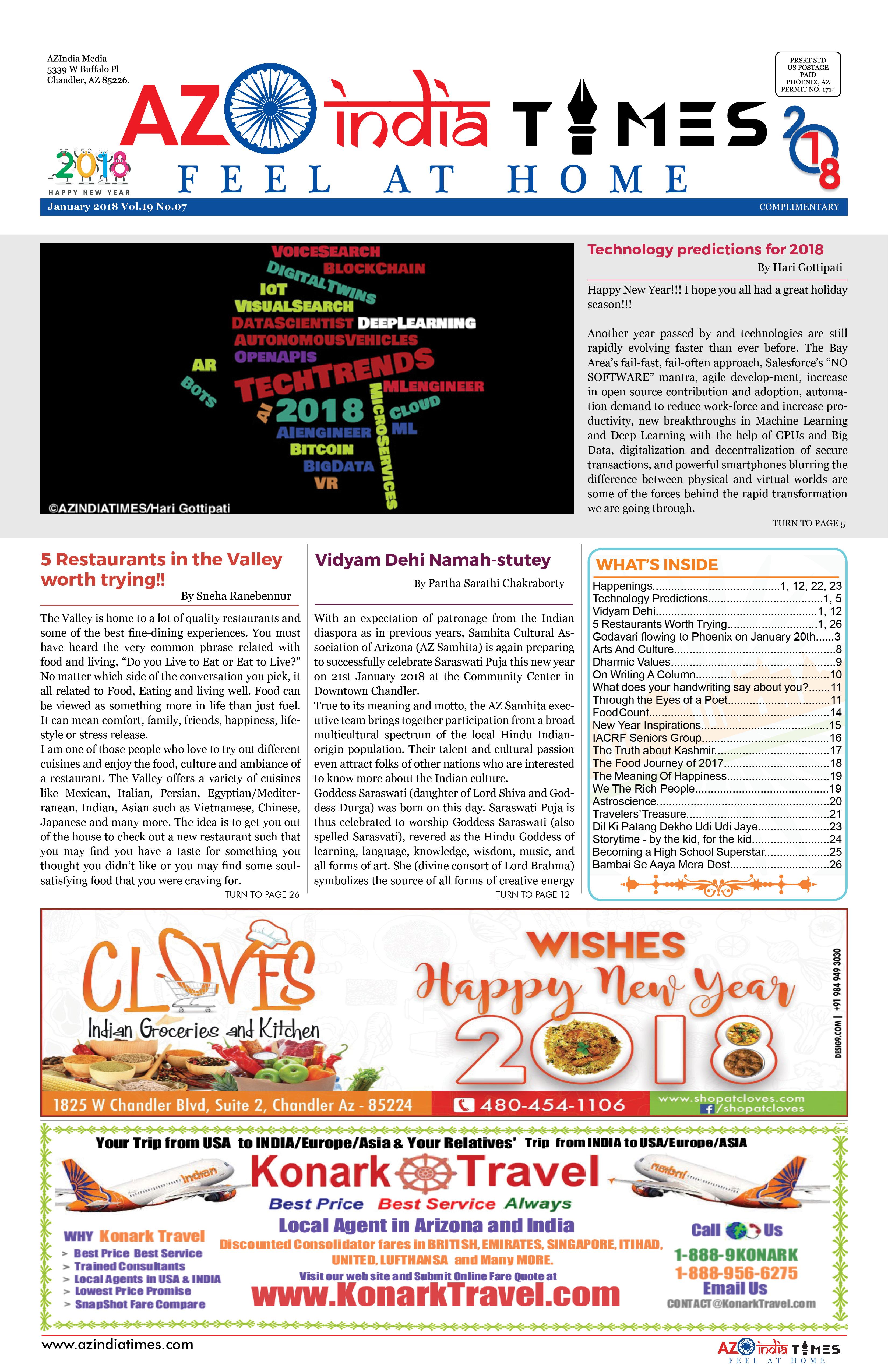 AZINIDA TIMES JANUARY EDITION