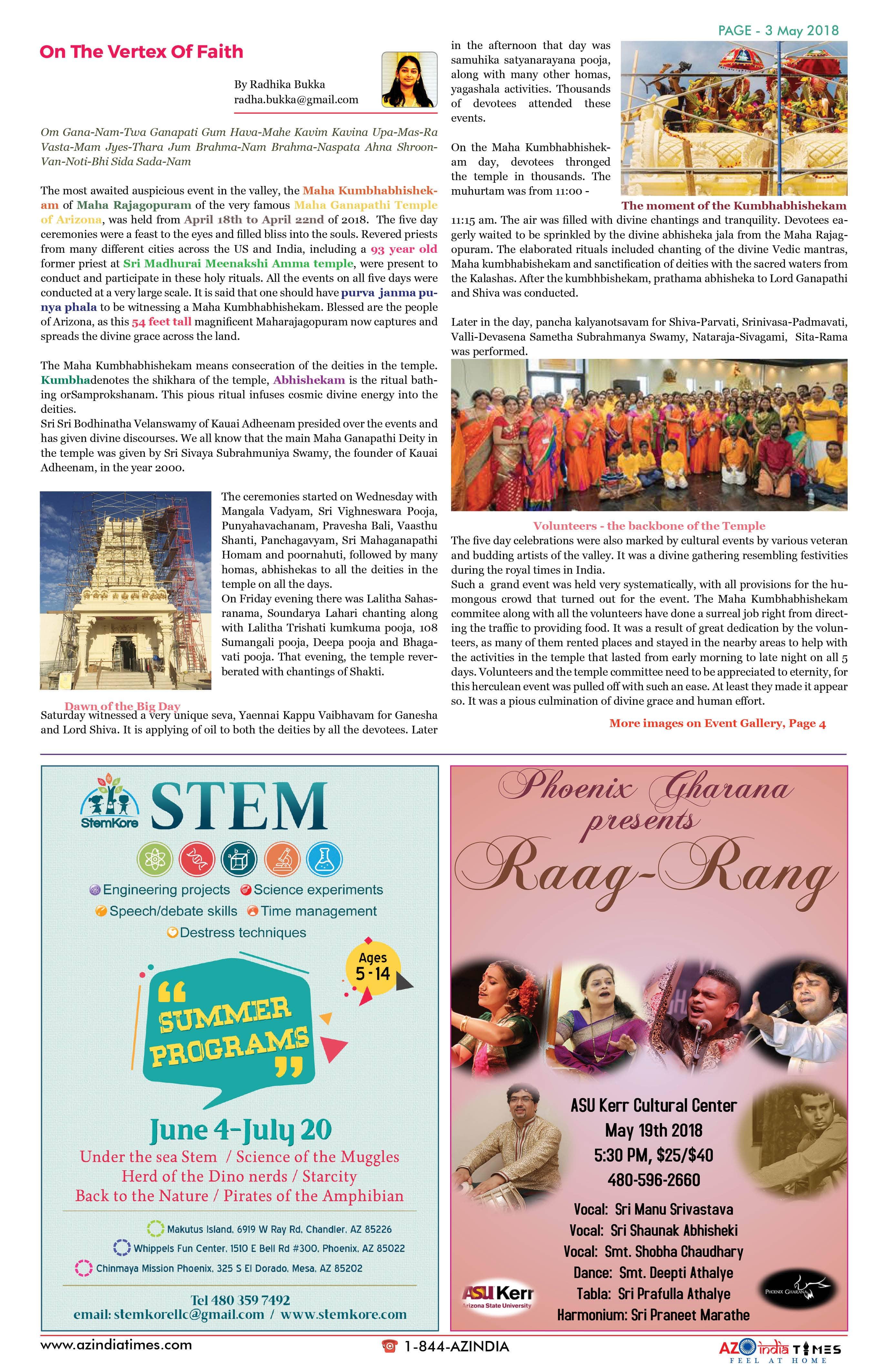 AZ INDIA MAY EDITION 3