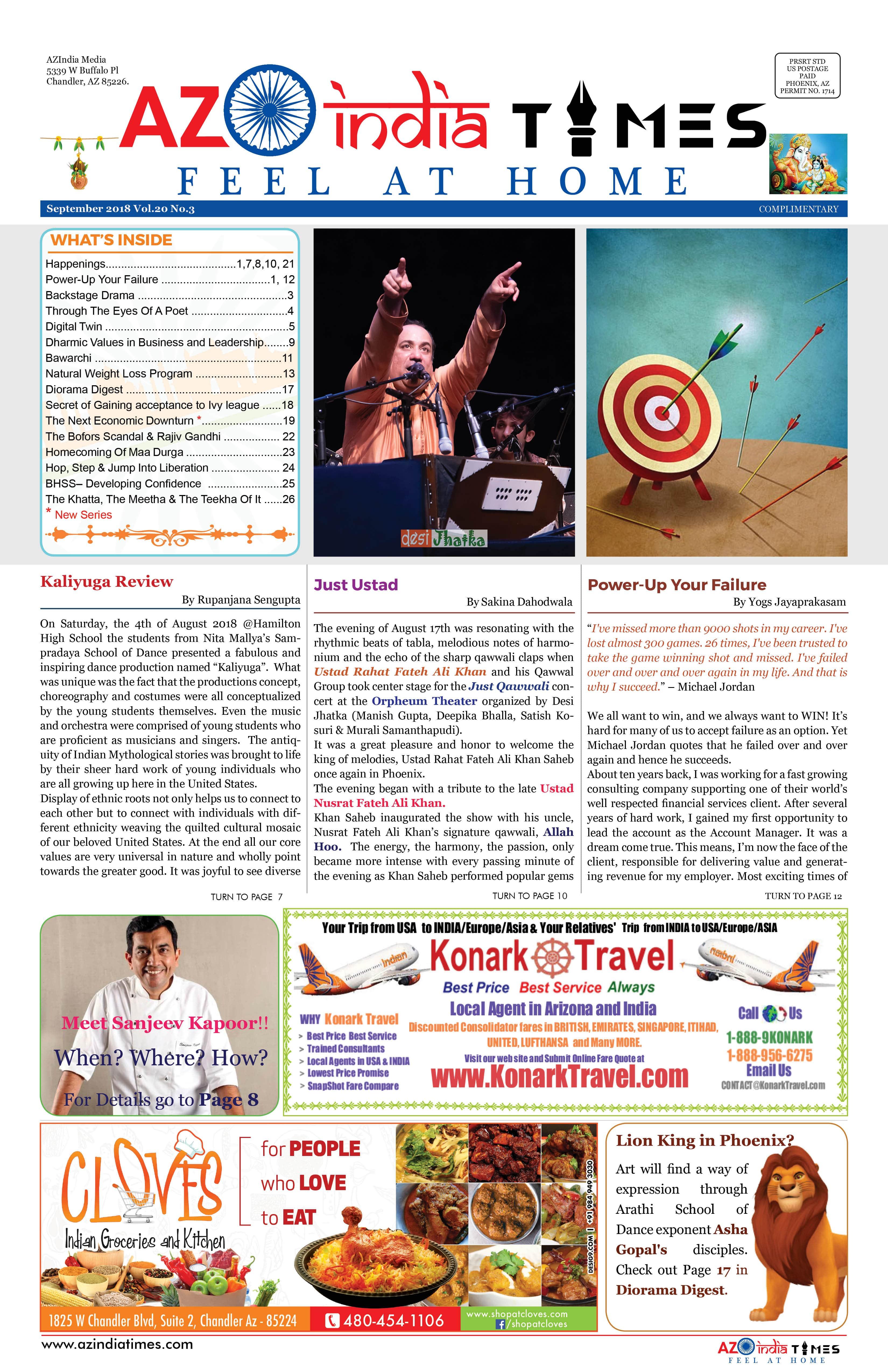 AZ INDIA SEPTEMBER  EDITION 1
