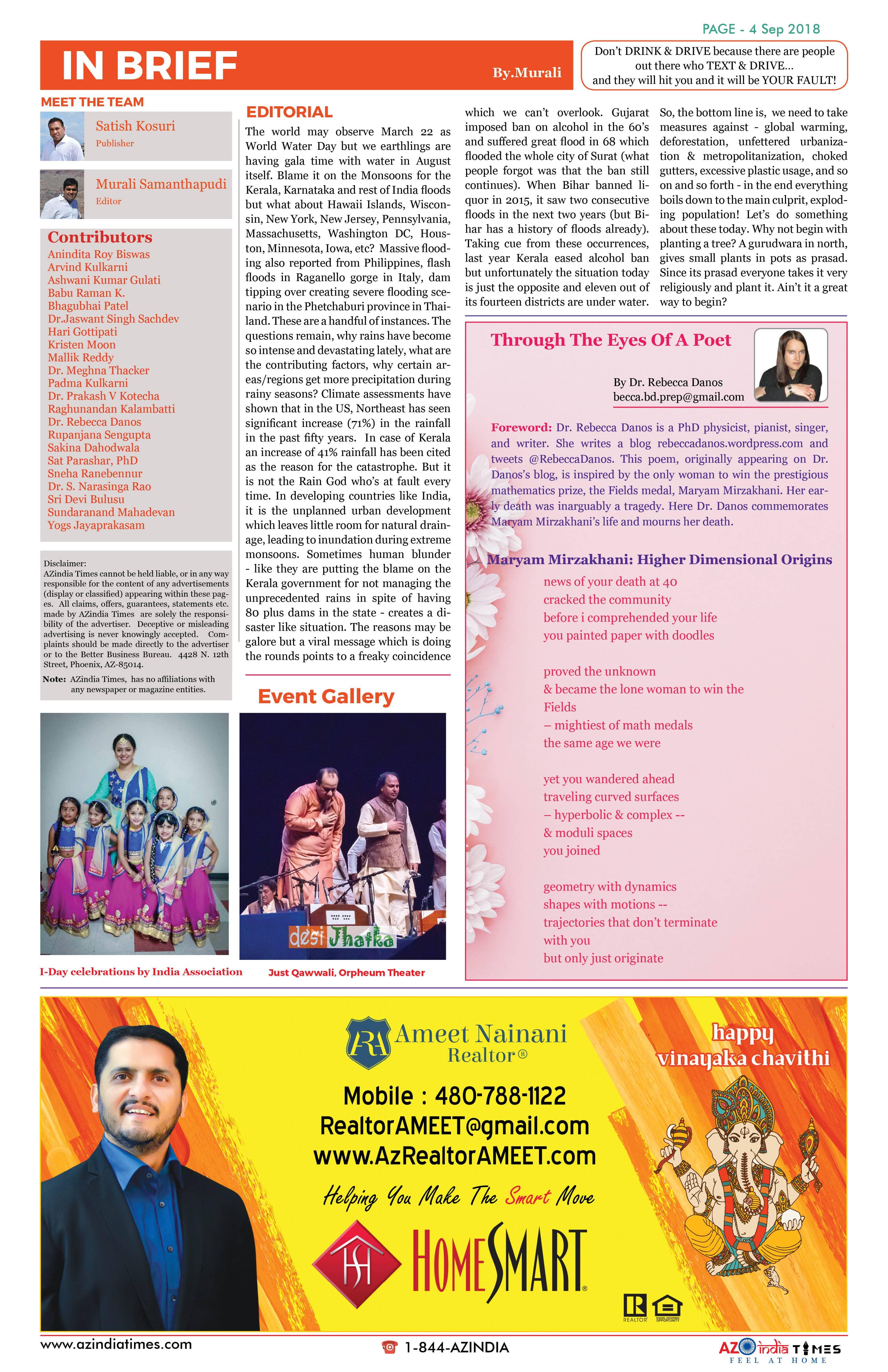 AZ INDIA SEPTEMBER  EDITION 4