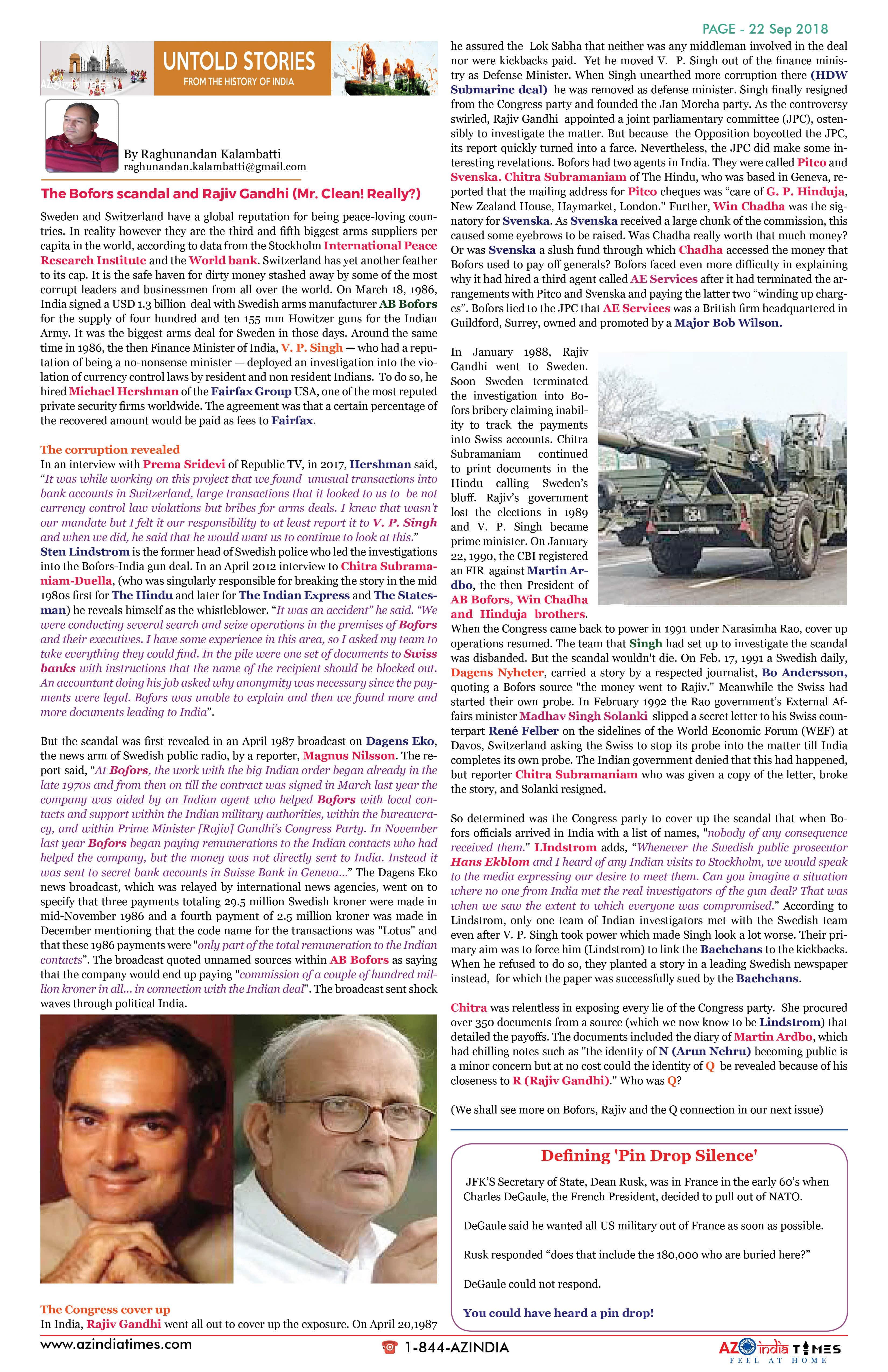 AZ INDIA SEPTEMBER  EDITION 22