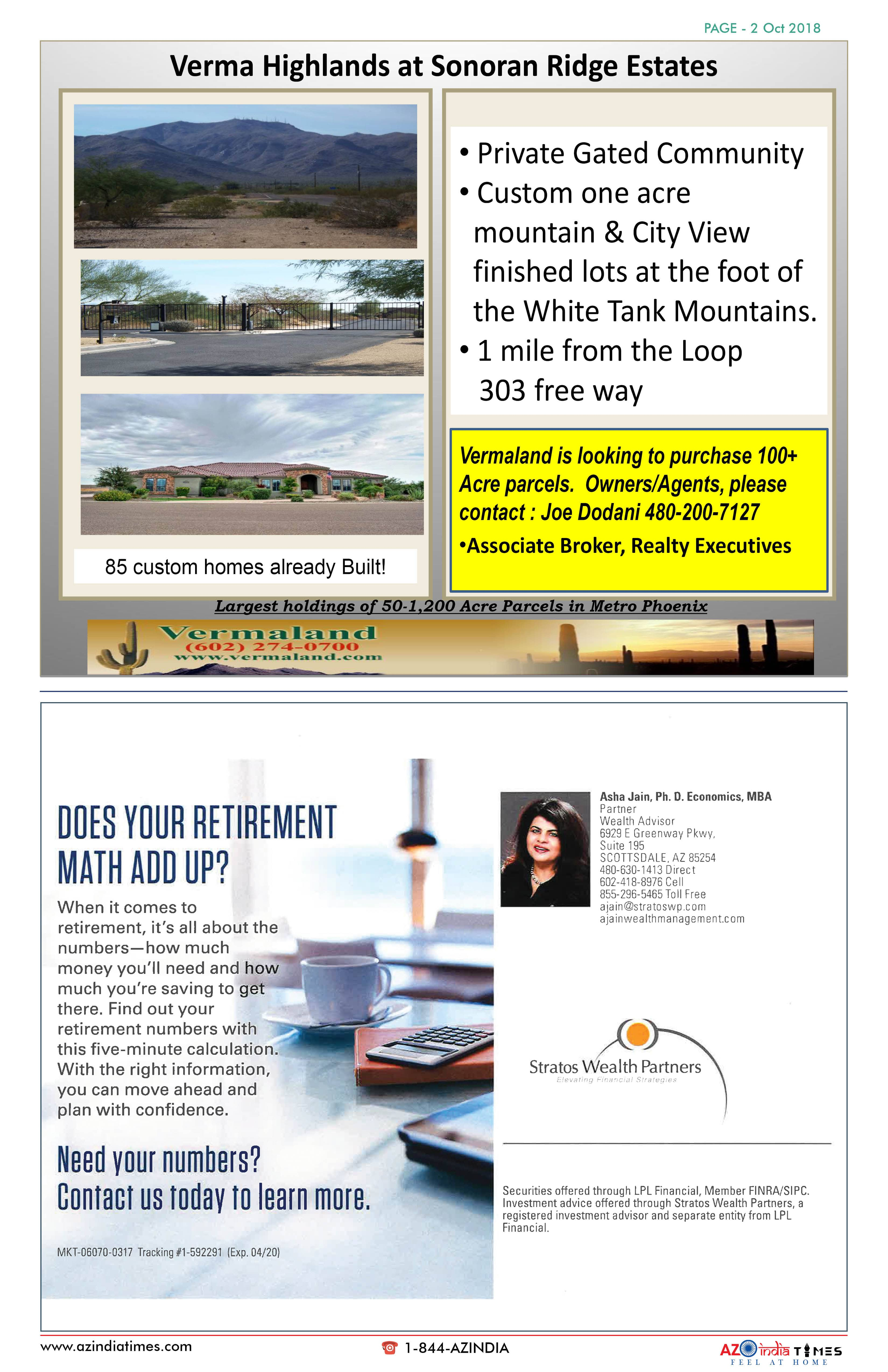 AZINDIA TIMES OCTOBER EDITION2