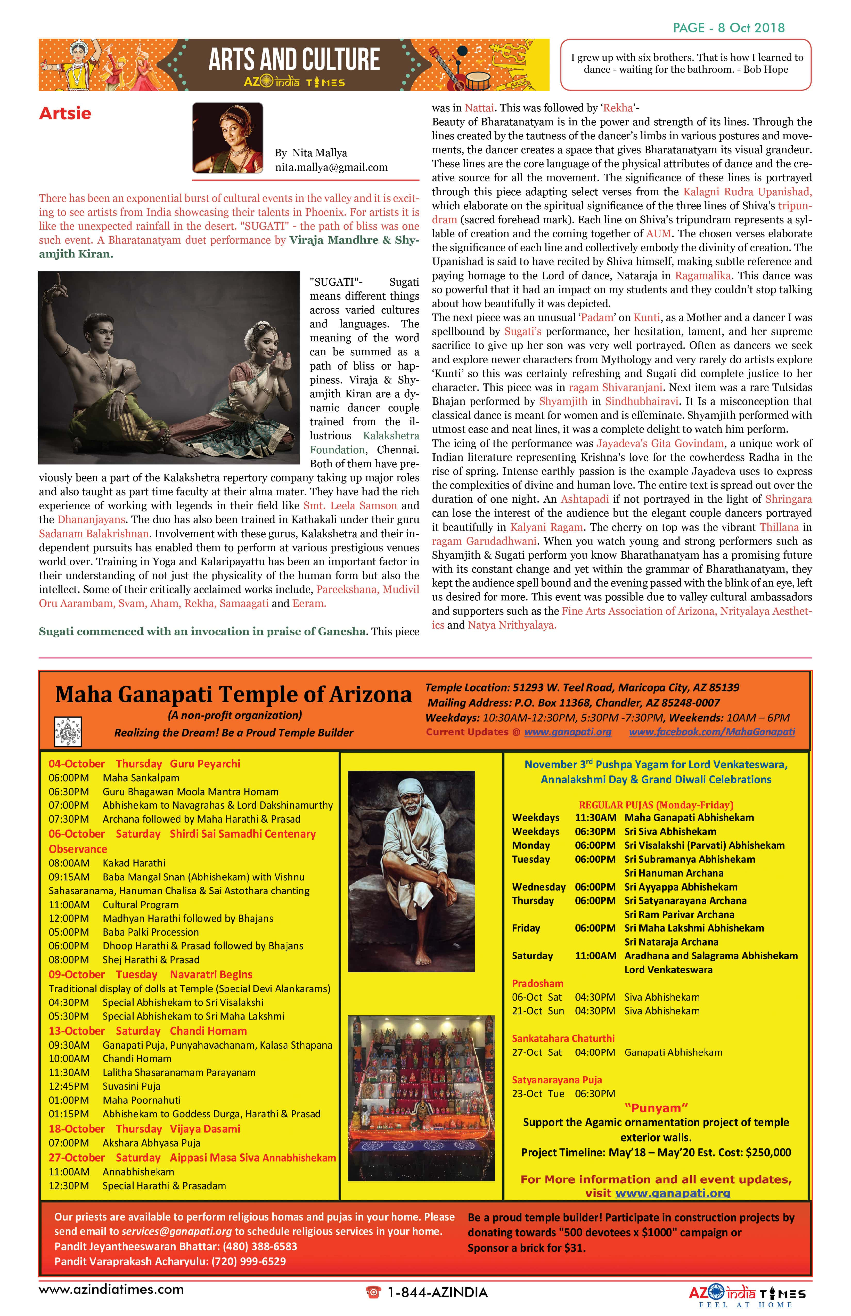 AZINDIA TIMES OCTOBER EDITION8