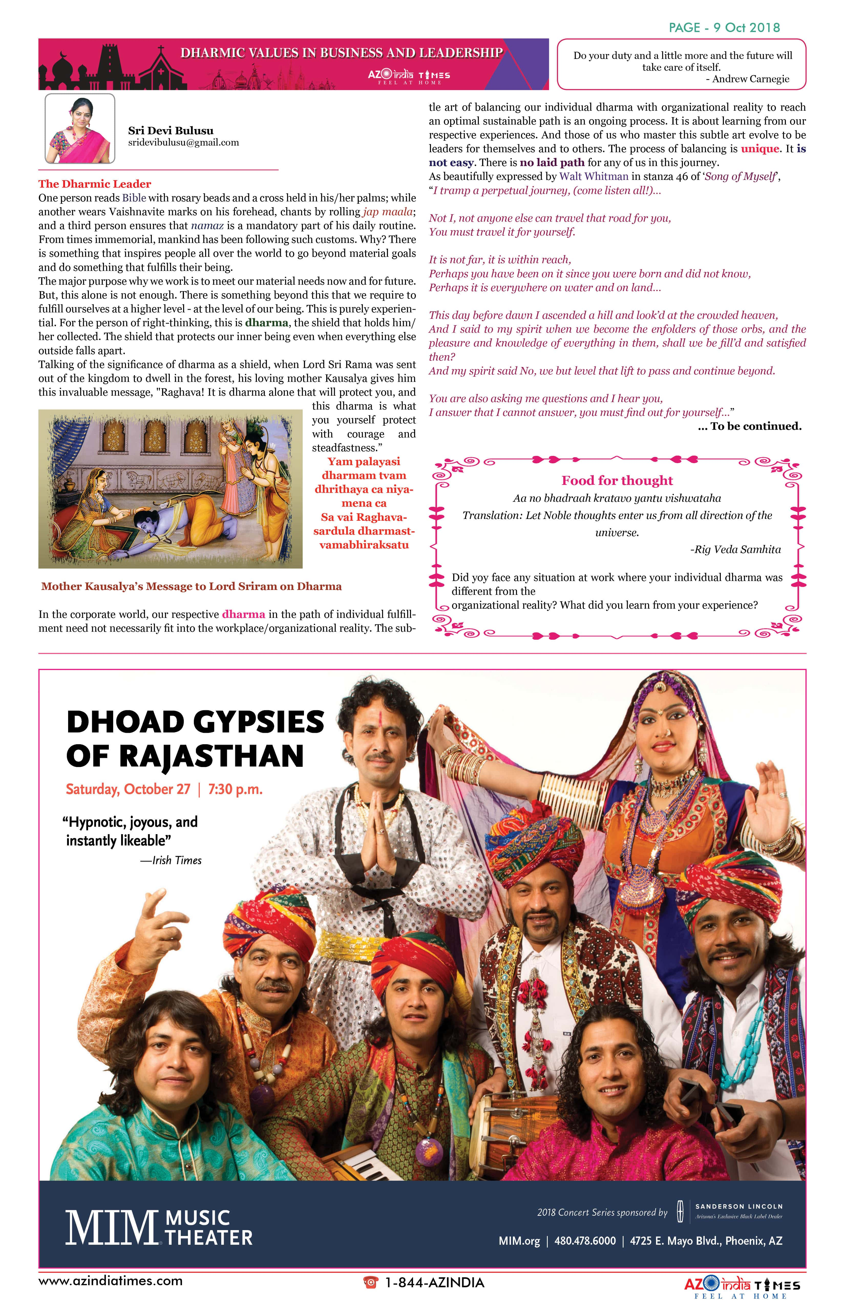 AZINDIA TIMES OCTOBER EDITION9