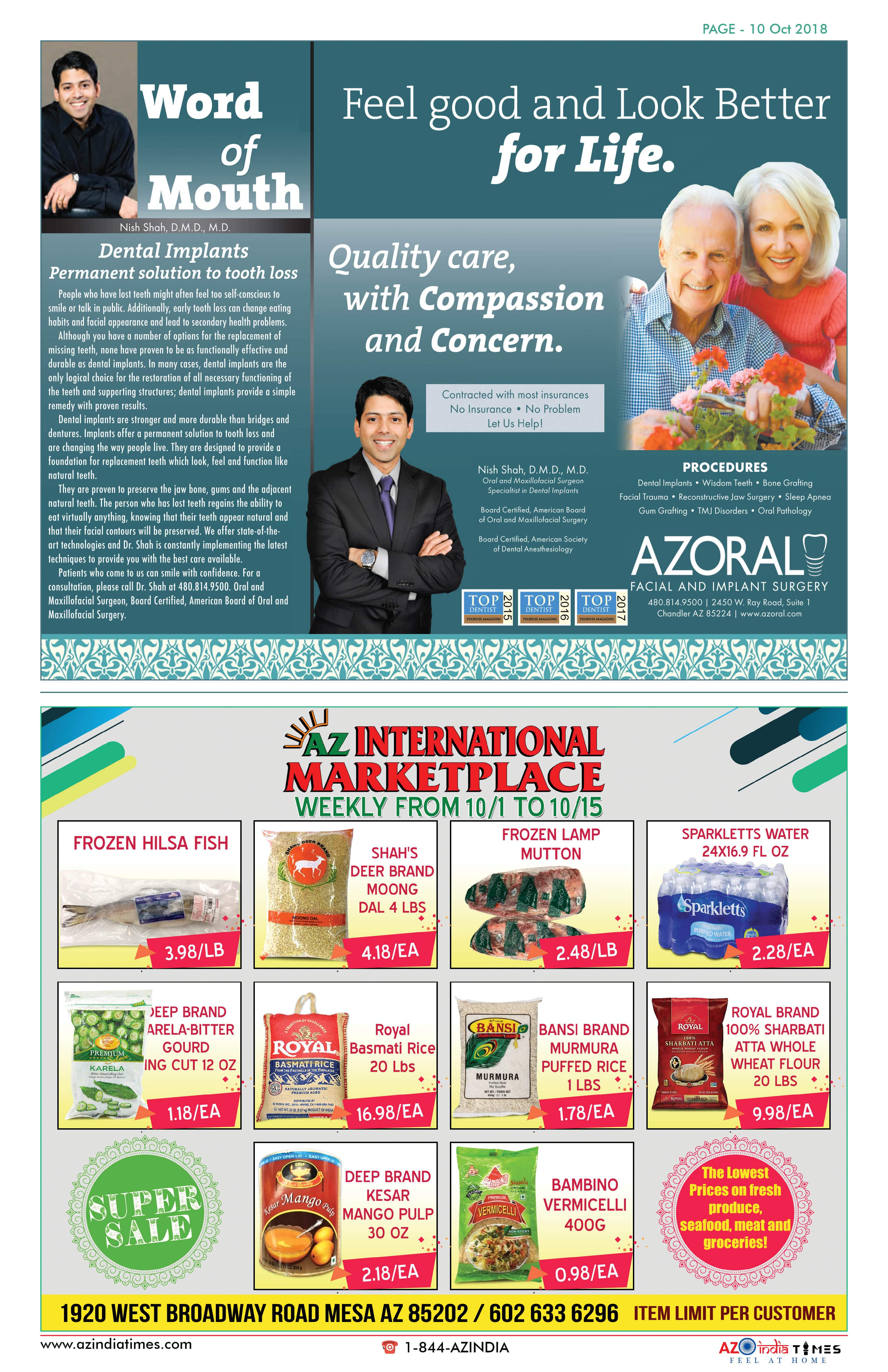 AZINDIA TIMES OCTOBER EDITION10