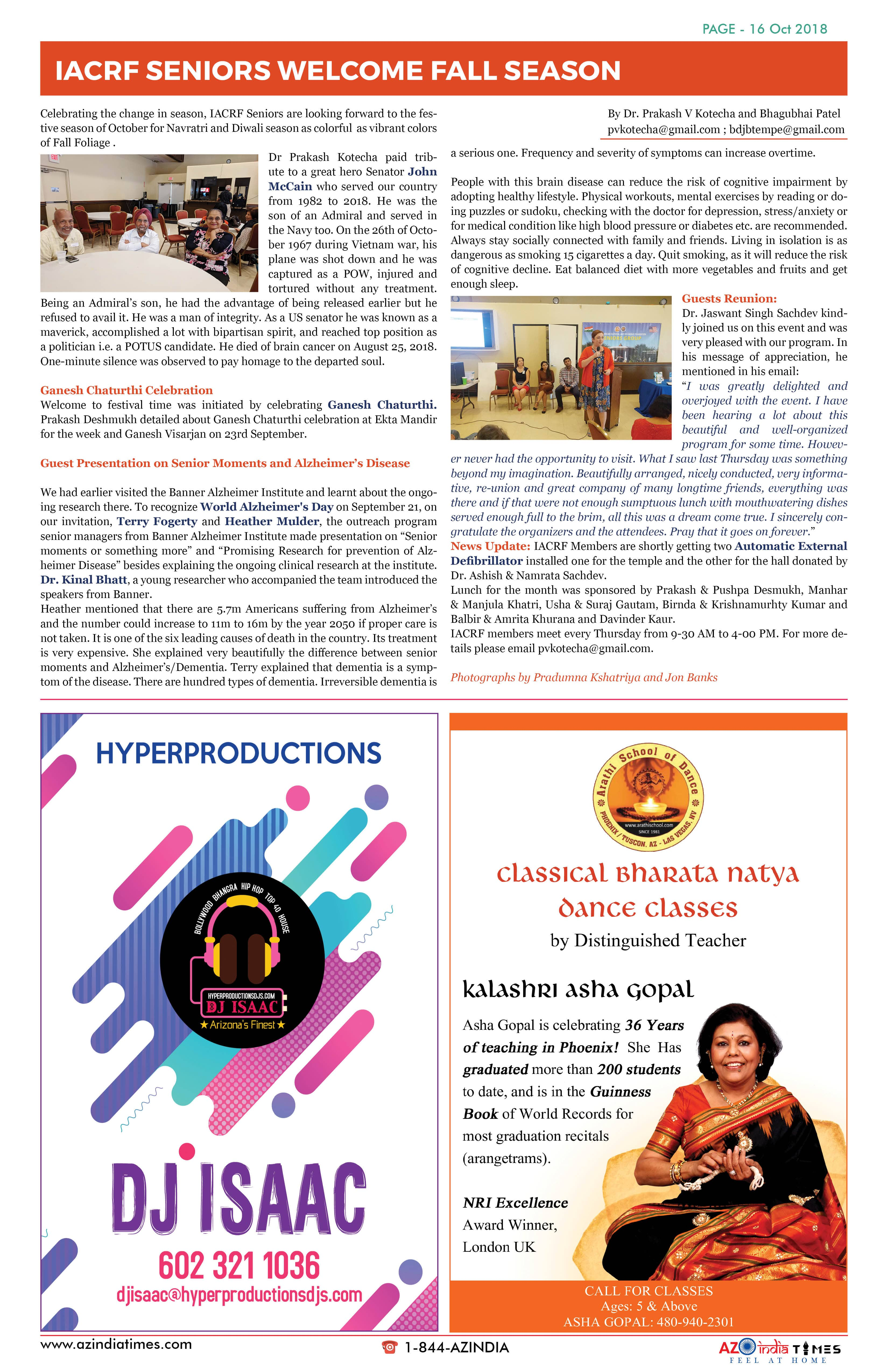 AZINDIA TIMES OCTOBER EDITION16