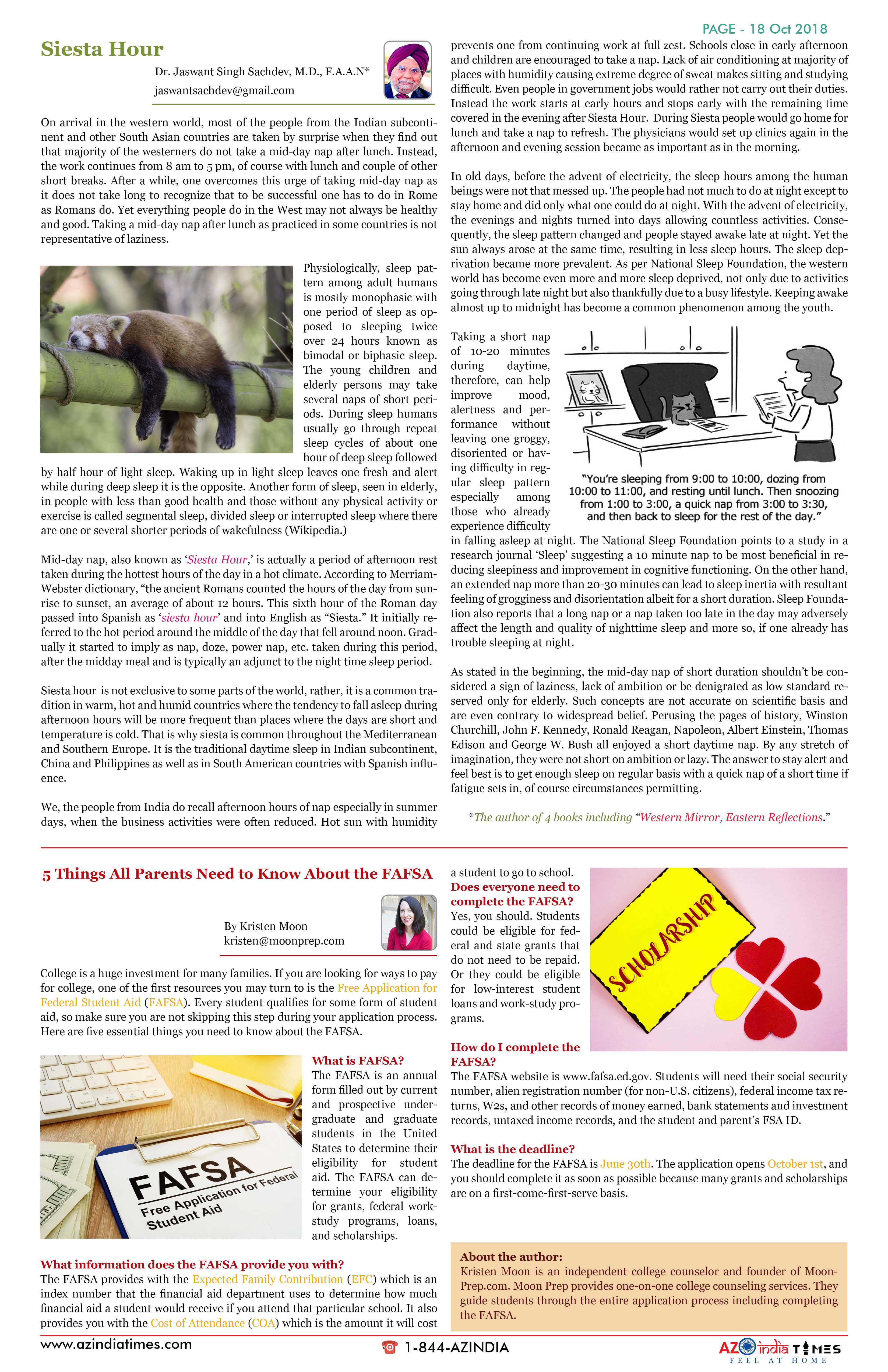 AZINDIA TIMES OCTOBER EDITION18