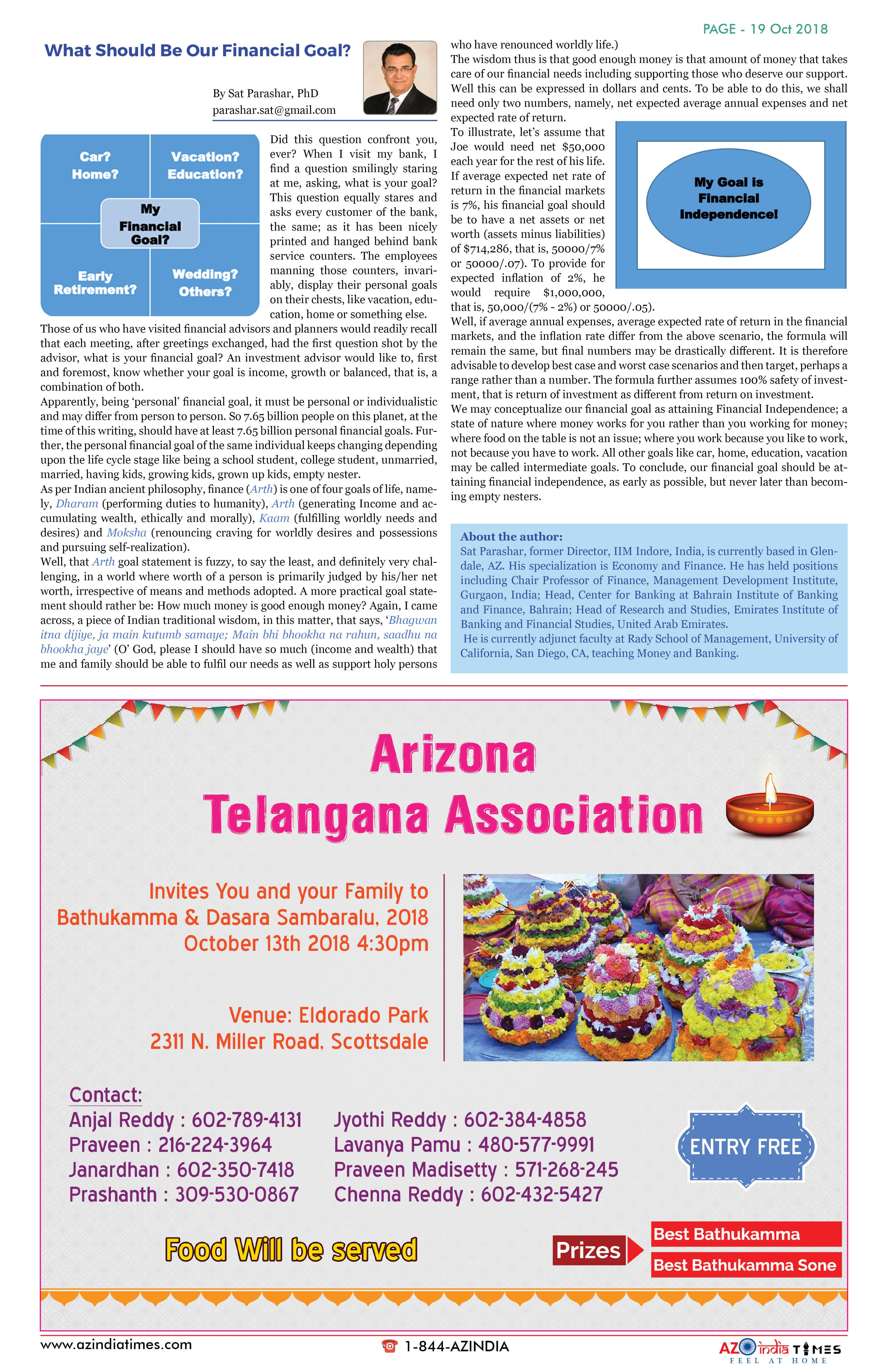 AZINDIA TIMES OCTOBER EDITION19