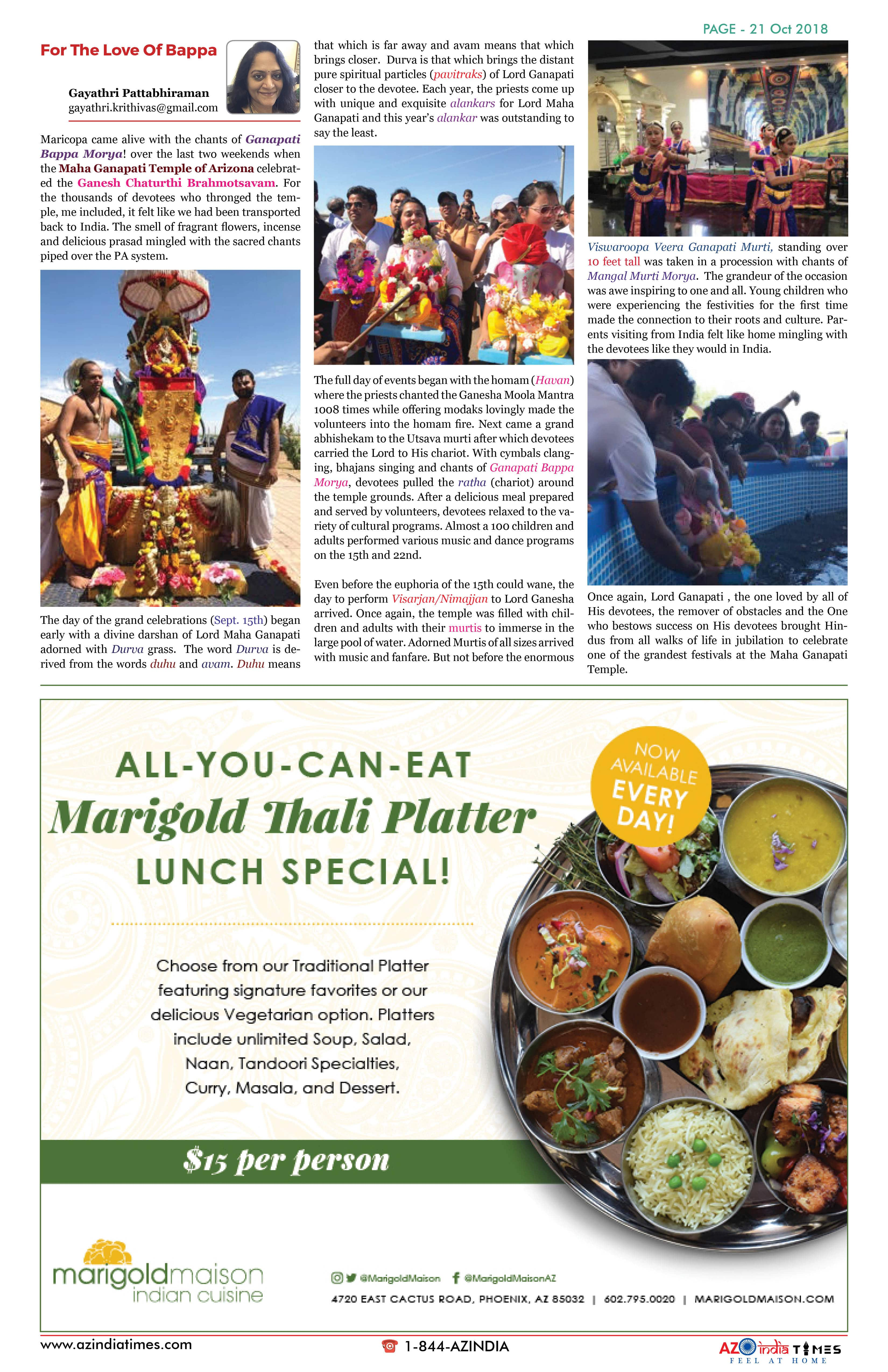 AZINDIA TIMES OCTOBER EDITION21