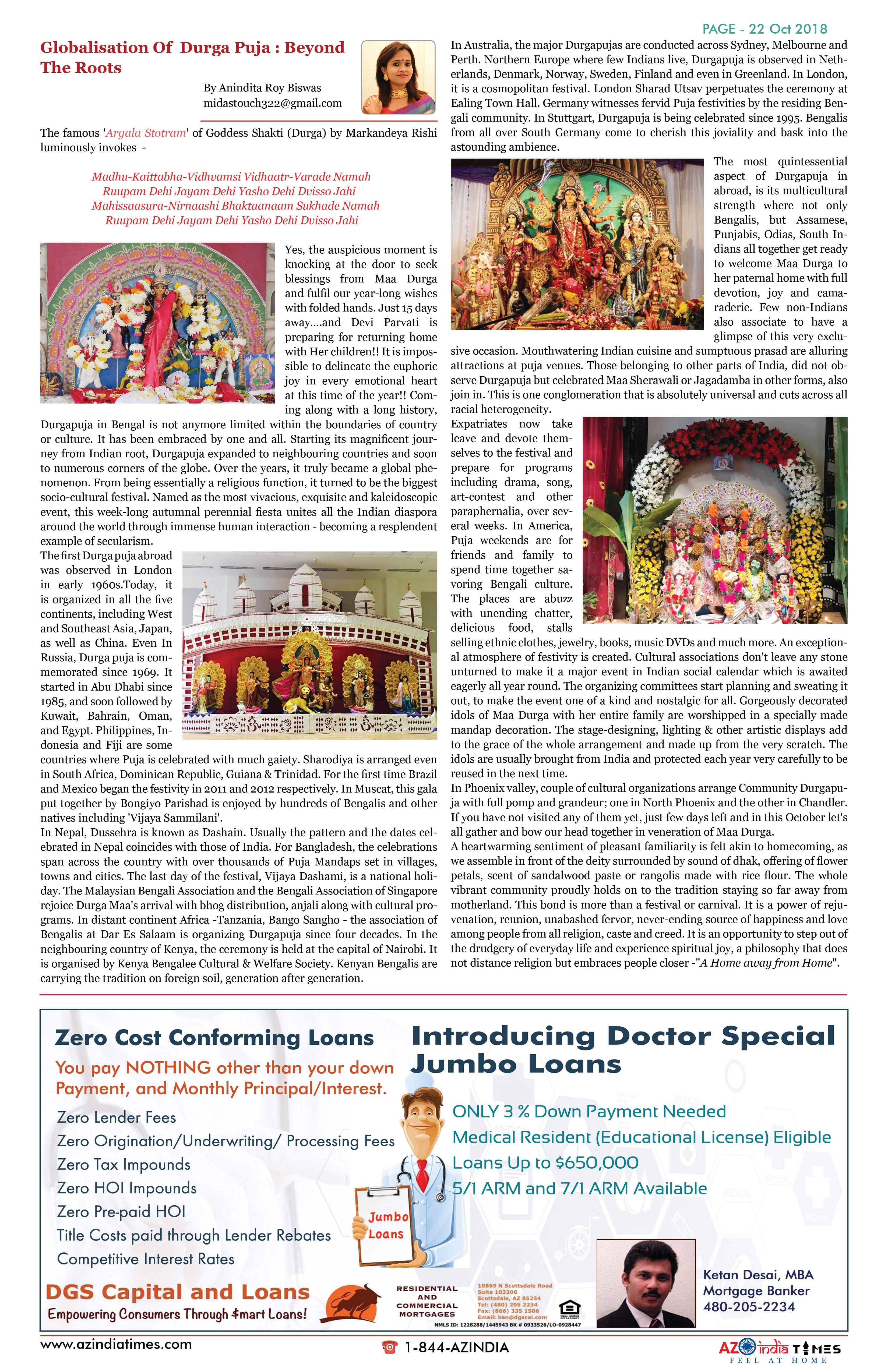 AZINDIA TIMES OCTOBER EDITION22