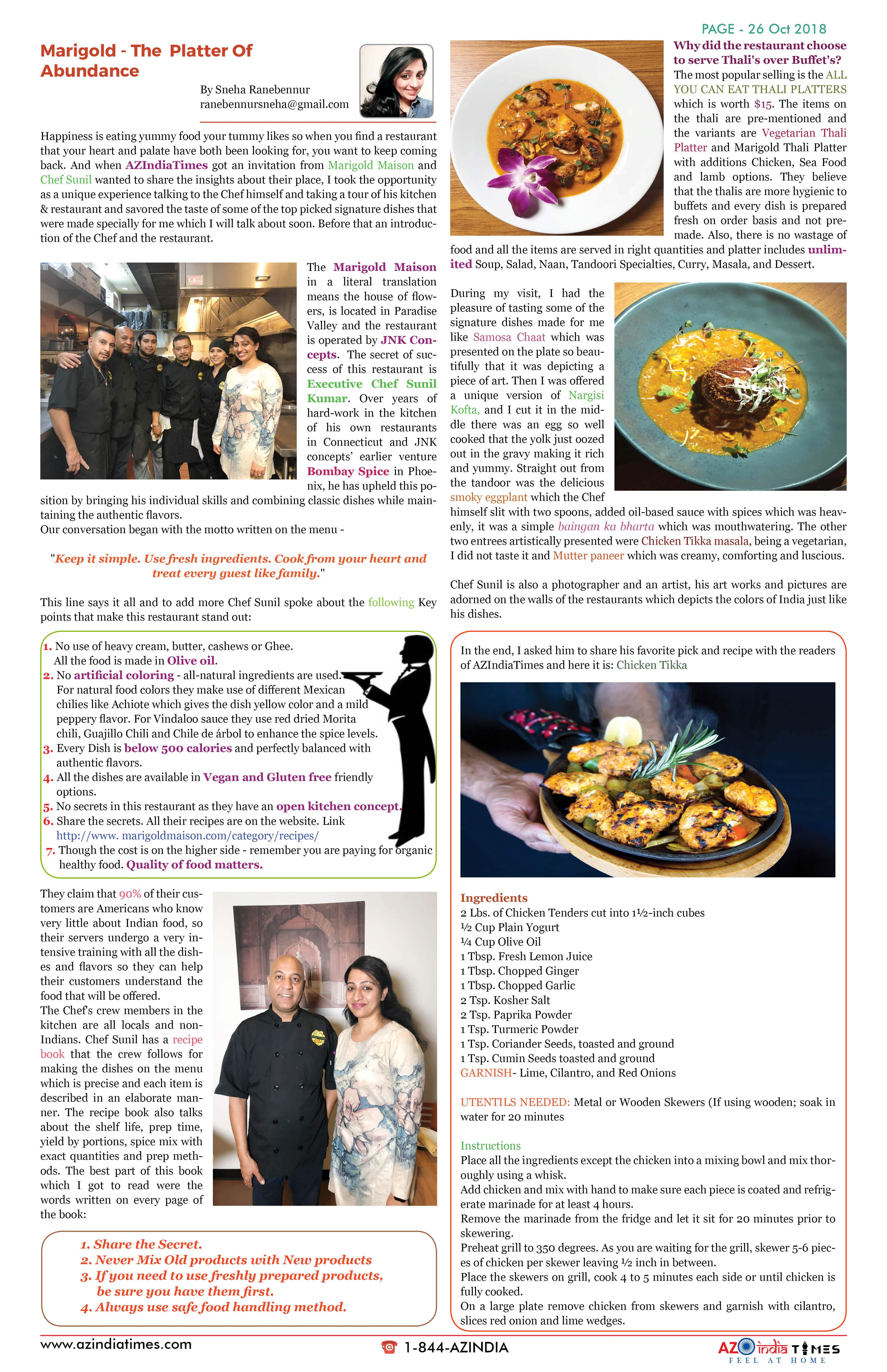 AZINDIA TIMES OCTOBER EDITION26