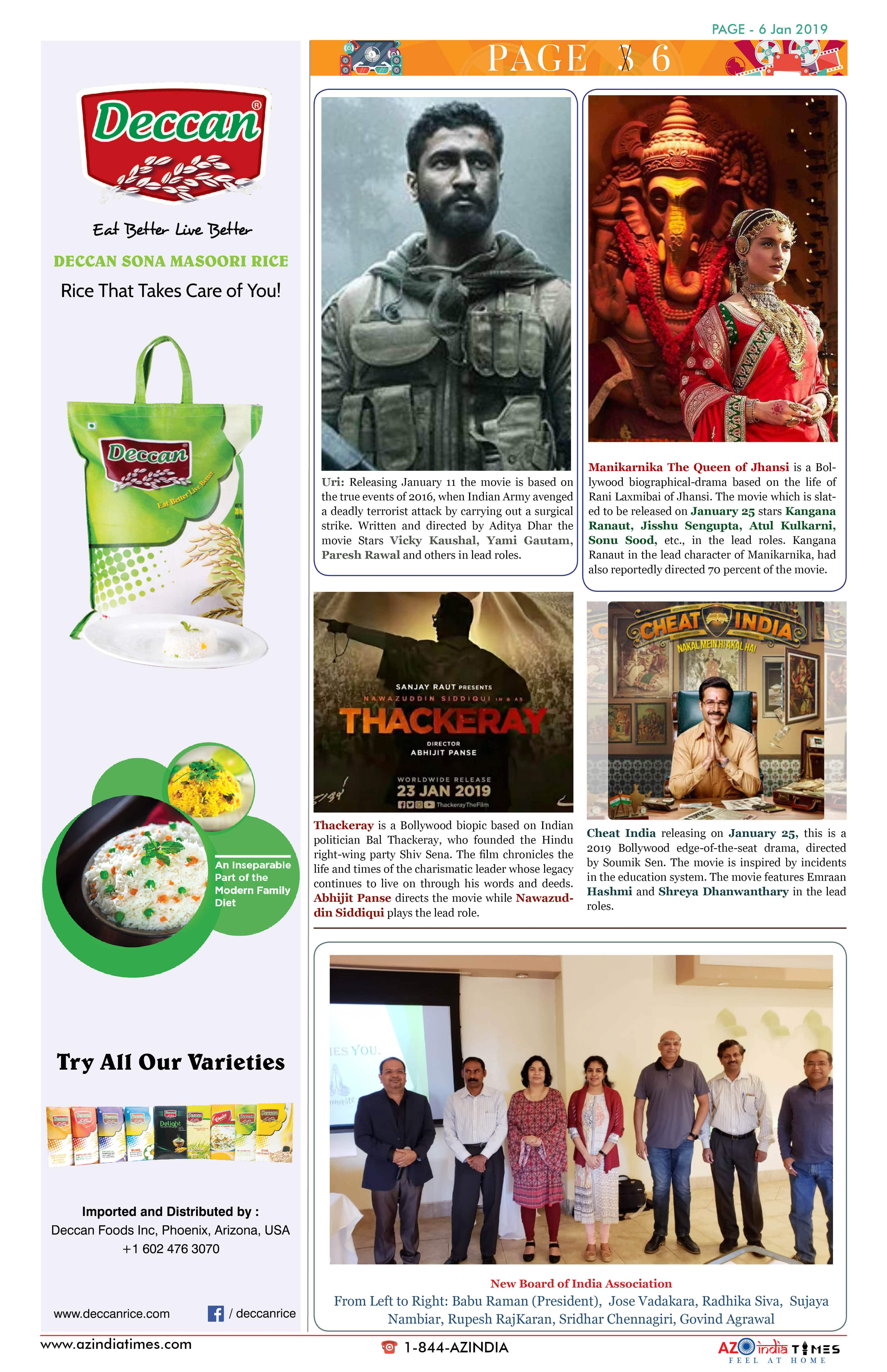 AZ INDIA JANUARY 6