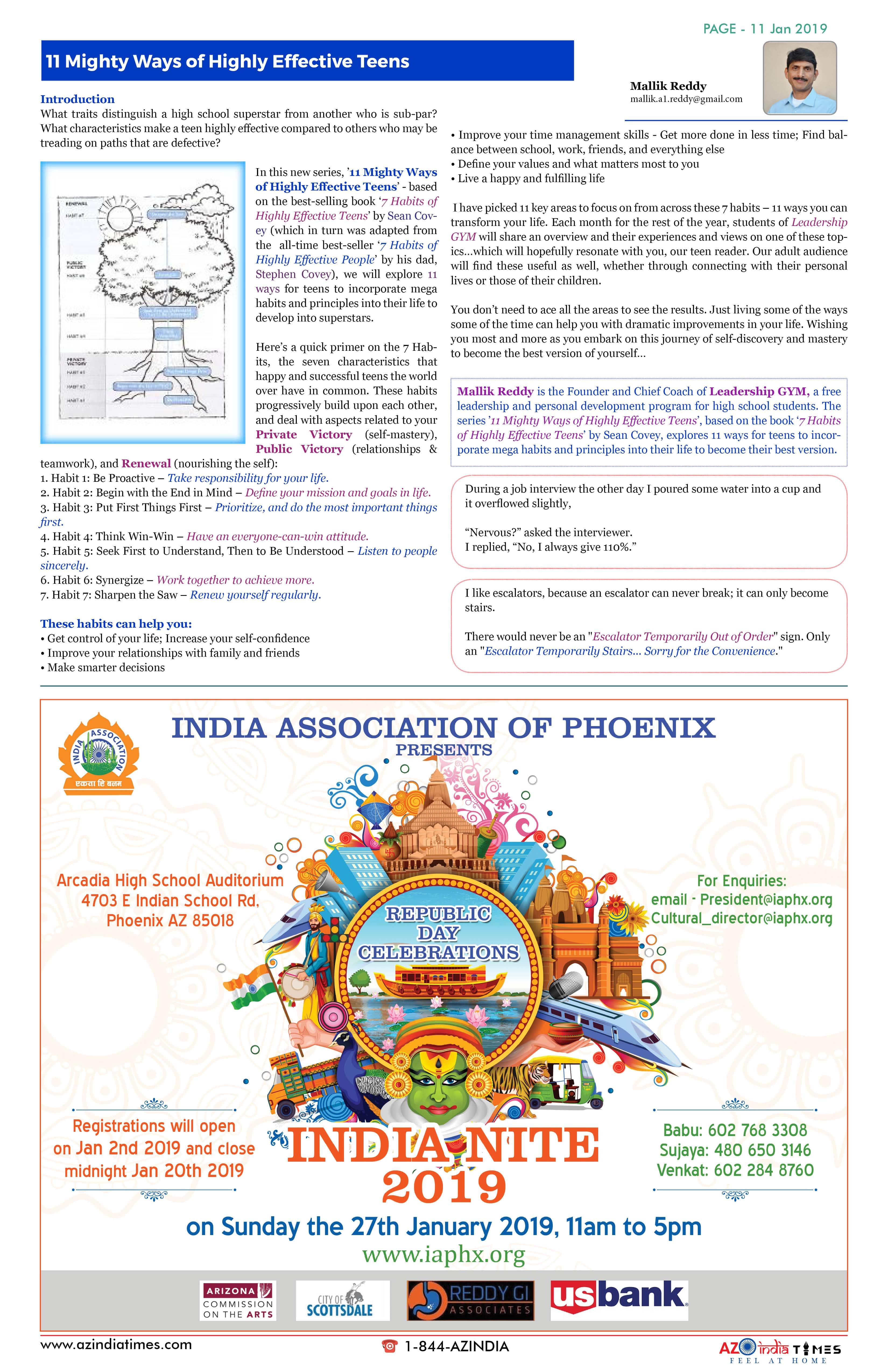 AZ INDIA JANUARY 11