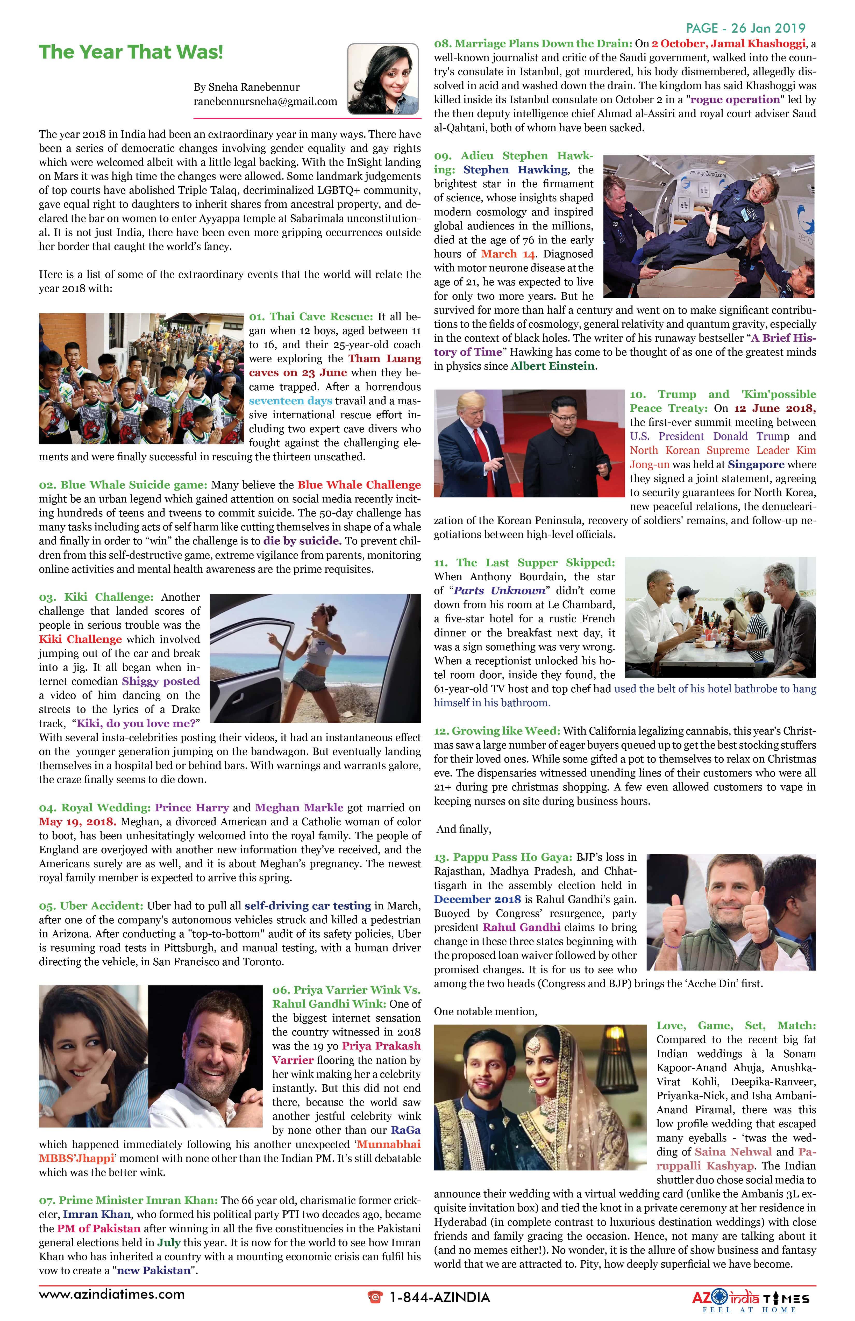 AZ INDIA JANUARY 26